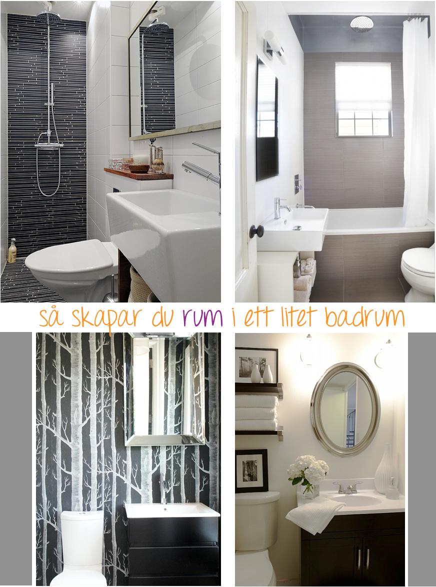 Tips för dig som ska inreda ett litet badrum