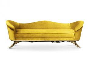 gul soffa